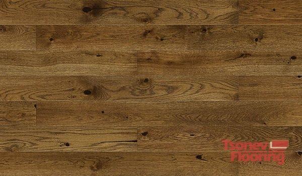 Трислоен естествен паркет Barlinek Oak Nugat Piccolo