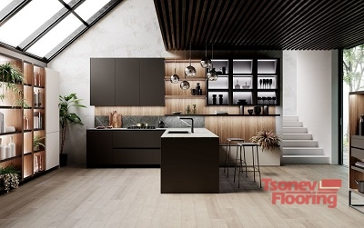 ламинат в кухня