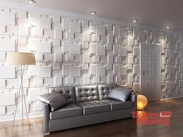3D панели за стени в интериора