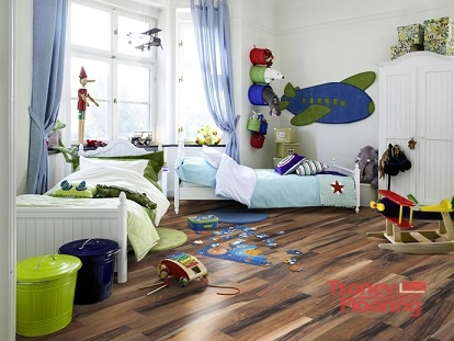 Подови настилки в детската стая