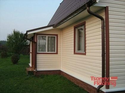 Сайдинг-довършителен материал за фасади на дома