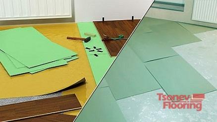 Подготовка на пода за монтаж на ламиниран паркет