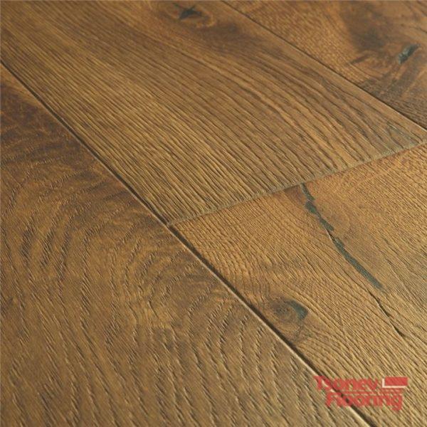 Barrel brown oak oiled