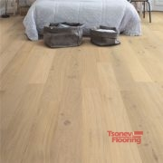 Oak cotton white matt COM1451