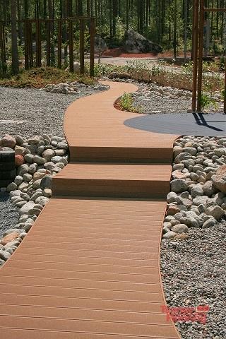 Висококачествен WPC градински декинг