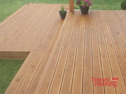 Tsonev Flooring-Декинг от естестевена дървесина