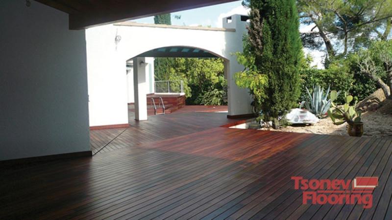 Tsonev Flooring-Декинг от екзотична дървесина